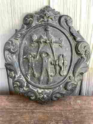 Rare Bronze Trades Guild Emblem