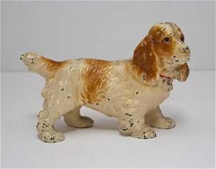 Cocker Spaniel Dog Cast Iron Hubley Doorstop
