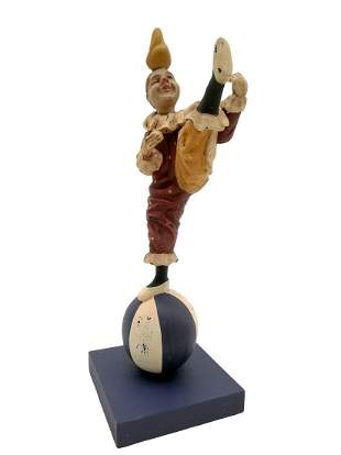 Wonderfull clown figurine