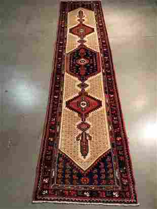 "EXQUISITE FINE PERSIAN RUNNER 2'.7"" X 11'.0"""