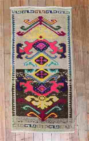 Vintage Anatolian Mini Rug