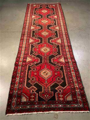 "EXQUISITE FINE PERSIAN RUNNER 3'.2"" X 9'.6"""