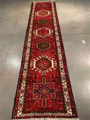 "EXQUISITE FINE PERSIAN RUNNER 2'.2"" X 9'.3"""