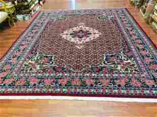 Vintage persian Bidjar Rug-, excellent, 9 '.x 12'