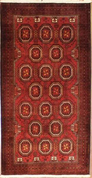 Authentic Persian Baluchi 6.9x3.6
