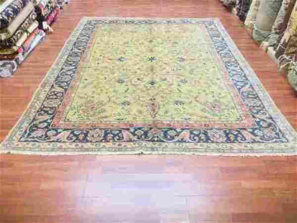 Antique all over Turkish Ushak rug-376,
