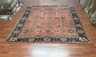 Antique Room Size Turkish Ushak Rug-3379