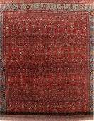 Vegetable Dye Antique Floral Bidjar Persian Wool Rug