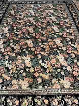 Handmade antique collectible Persian Kurdish rug 3.5' x