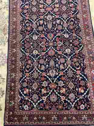 Semi Antique Hand Woven Kashan 6.11x4.2 ft