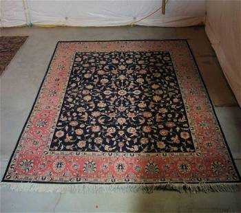 Hand Knotted Persian Tabriz 10.4x8