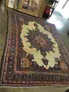 Hand Knotted Persian Tabriz 8x11 ft