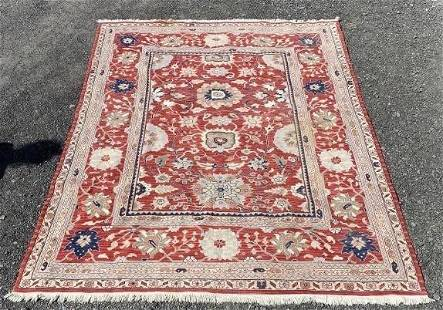 Hand Knotted Agra Heriz 10x8 ft