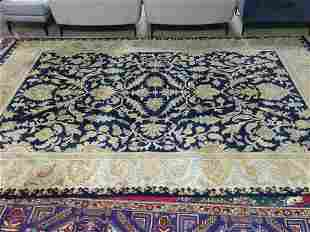 Hand Knotted Agra Heriz Rug 12.3x8.6 ft