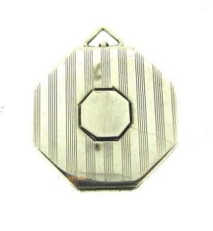 CLASSIC Sterling Silver Locket/Pendant Circa 1940s