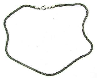 GROOVY Sterling Silver Necklace!