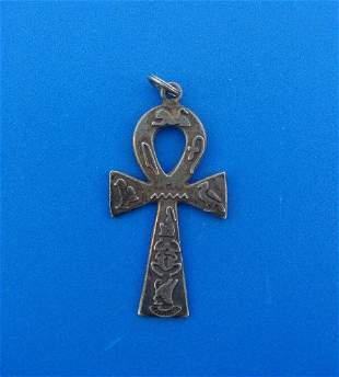 TIMELESS Silver Ankh Cross Pendant