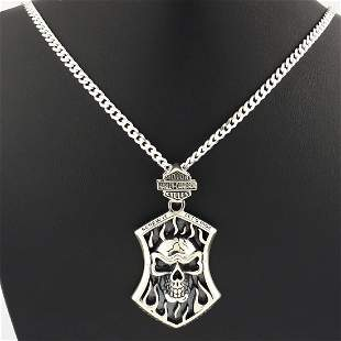 925 Sterling Silver - Necklace & Pendant Set