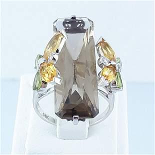 14K White Gold - Ring