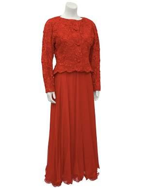 Diane von Furstenberg Yellow and Navy Dress