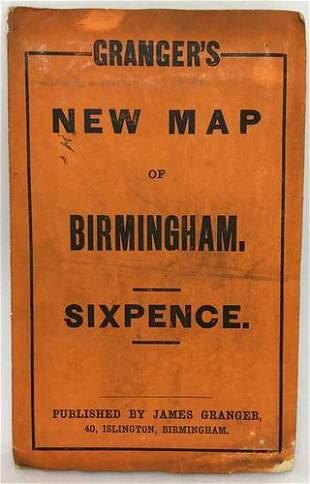 Granger's Map of Birmingham.