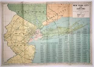 New York City and Suburbs