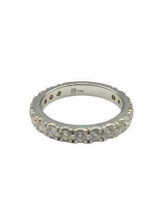 Platinum & Diamond Stackable Ring set with Diamonds