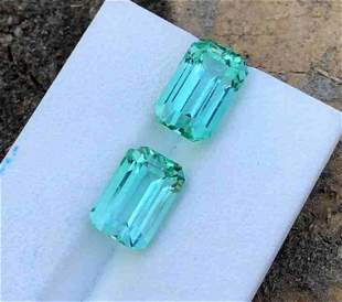 13.5 Carats Natural Emerald Color Tourmaline From