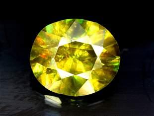 Sphene Full Fire Natural Loose Gemstone - 0.65 Carats -