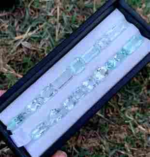 Natural Aquamarine Loose Gemstones lot From Pakistan -