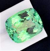 Kunzite Gemstone Green Color Flawless Top Quality