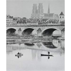 HENRI CARTIER-BRESSON - The Loire in Orléans