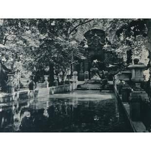 EDOUARD GOURSAT - La Fontaine de Marie de Medecis