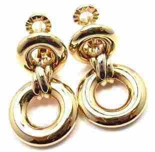 Authentic! Cartier Trinity 18k Tri-Color Gold Drop