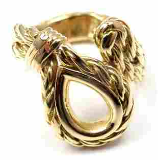 Rare! Authentic Tiffany & Co France 18k Yellow Gold
