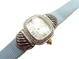 Authentic! David Yurman DY Silver 925 Diamond