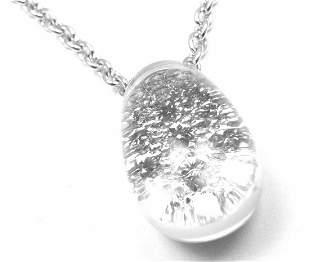 Authentic! Cartier Myst de Cartier Rock Crystal Diamond