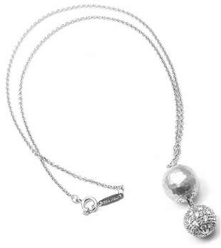 Rare! Authentic Tiffany & Co Paloma Picasso 18k White