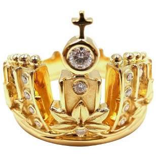 Carrera Y Carrera Mi Princes Russian Crown Diamond 18k