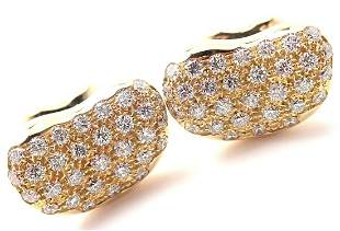 Authentic! Tiffany & Co Elsa Peretti Bean 18k Yellow