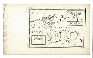 1747 Map of Ancient Africa Egypt