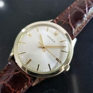 Mens Rolex 7002 35mm 14k Gold-Filled Automatic Dress