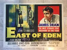 East of Eden - James Dean (1955) UK Quad Movie Poster