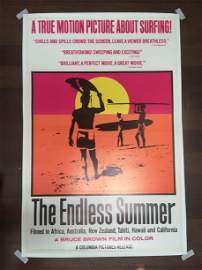 The Endless Summer (1966) US One Sheet Movie Poster LB