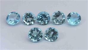 3.96 Cts Natural Blue Topaz Lot