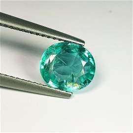 1.56 ct Natural Bluish Green Apatite