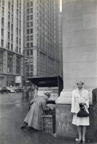 HENRI CARTIER-BRESSON - Chicago, 1947