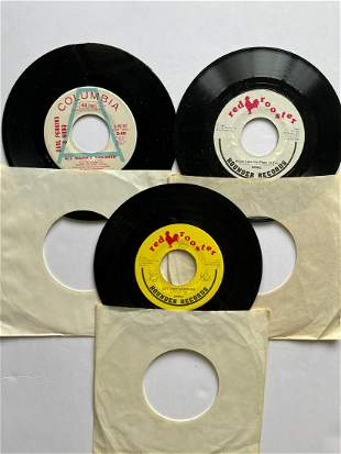 THE NRBQ & CARL PERKINS DJ PROMO SET