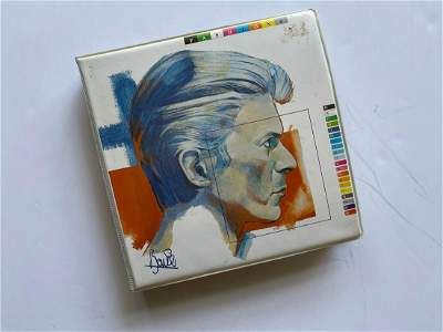 THE DAVID BOWIE FASHIONS PICTURE DISC BOX SET