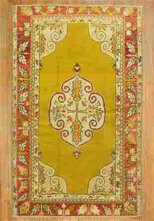 Yellow Turkish Rug